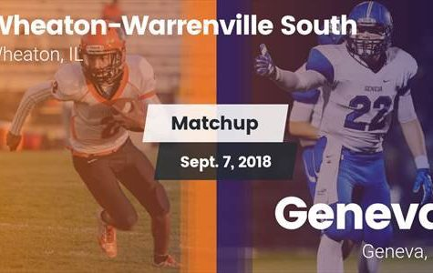 Wheaton Warrenville South Defeats Geneva in First Conference Game of the Season