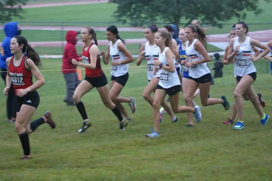 WWS Girls Cross Country Team Bring Home a Victory